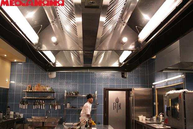 линейные кухни фото