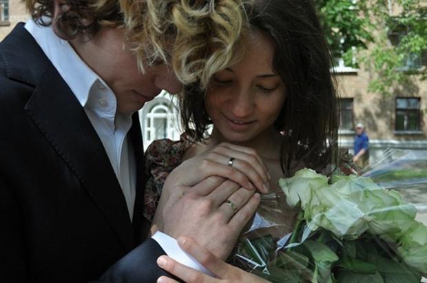 Александр Кривошапко и Татьяна Денисова поженились