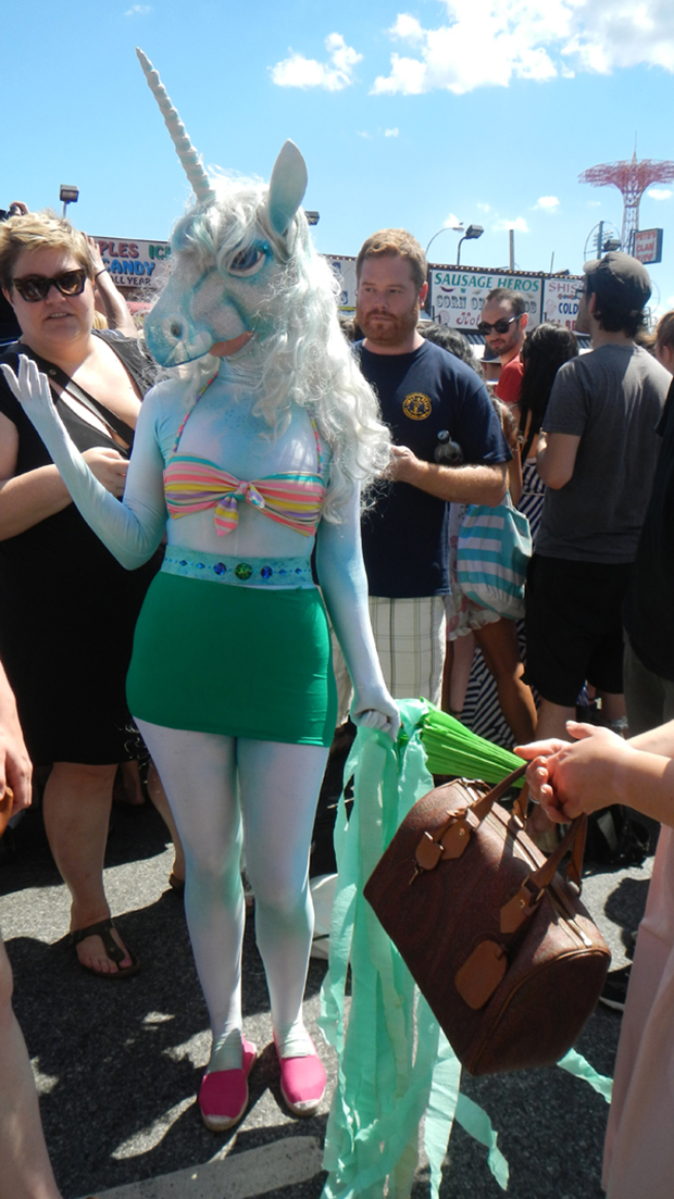 геи, Нью-Йорк, парад русалок, Mermaid Parade,