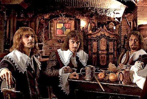 Три мушкетера, Сергей Жигунов,