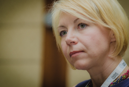 Оксана Соколова сработалась с коллегой из России