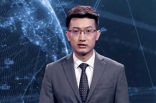 """Китайское информагентство """"Синьхуа"""" представило виртуального ведущего"""