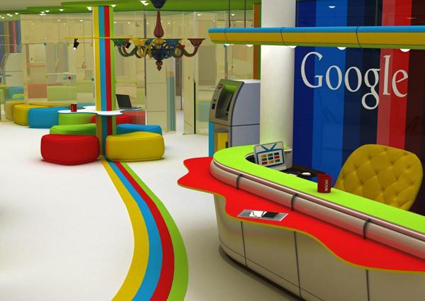 Каким может быть офис Google в Украине