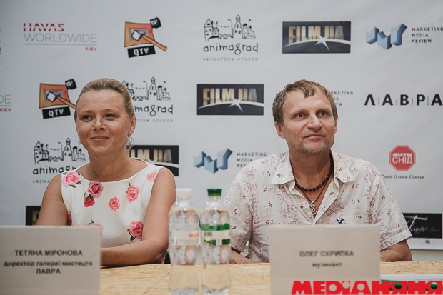 LINOLEUM, FILM.UA, KIEV MEDIA WEEK, Михаил Царев, Полина Толмачева, Олег Скрипка, Анимаград