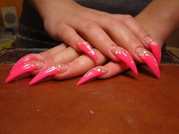 Очень страшные ногти