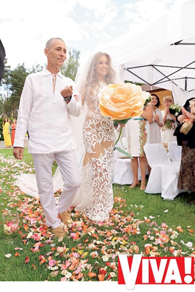 свадьба яны меладзе и олега фото видно
