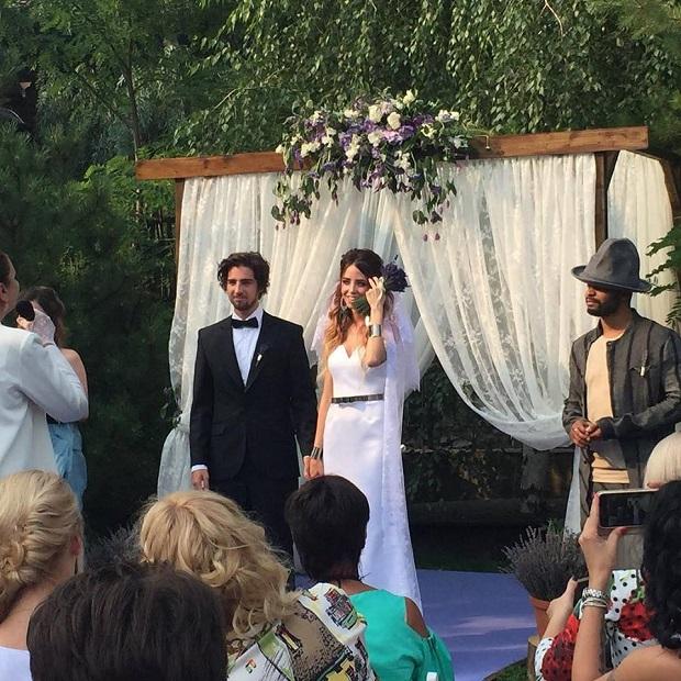 Надежда Дорофеева иВладимир Дантес поженились