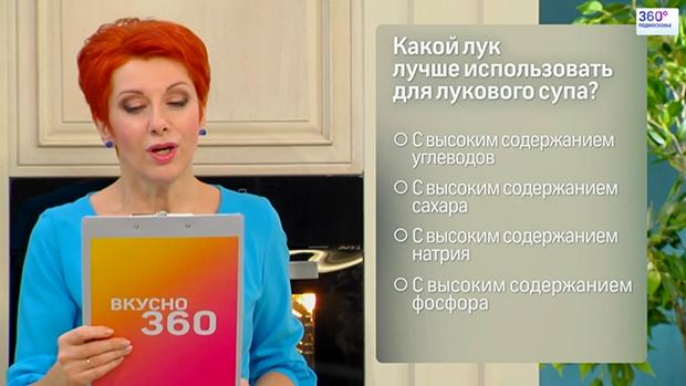 Рецепты программы вкусно телеканала 360