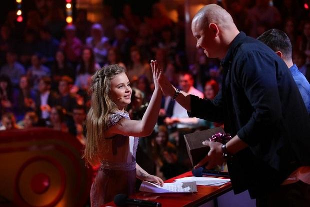 Дочь Ольги Фреймут пришла вдетскую версию шоу «Рассмеши комика»