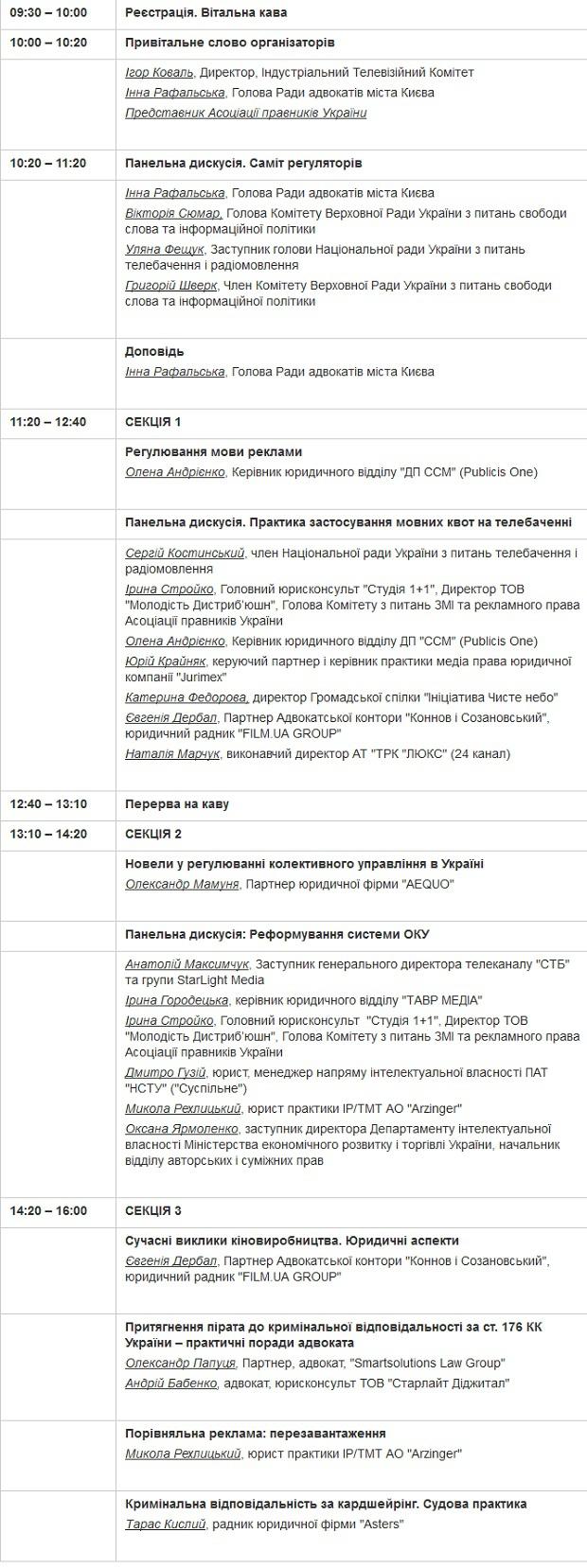ИТК, Медиаправо