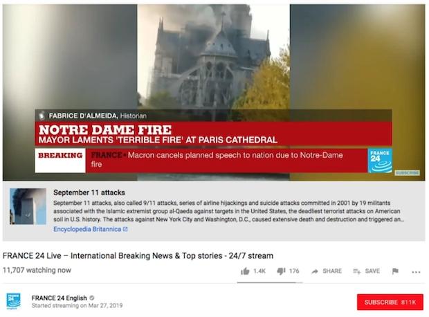 Нотр-Дам, собор Парижской Богоматери, YouTube